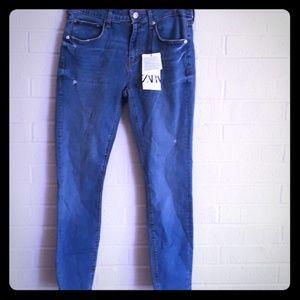 Zara the skinny in sunrise jeans NWT